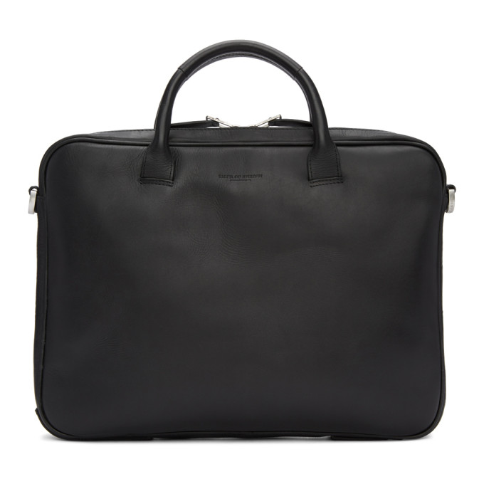 Image of Tiger of Sweden Black Accord Briefcase