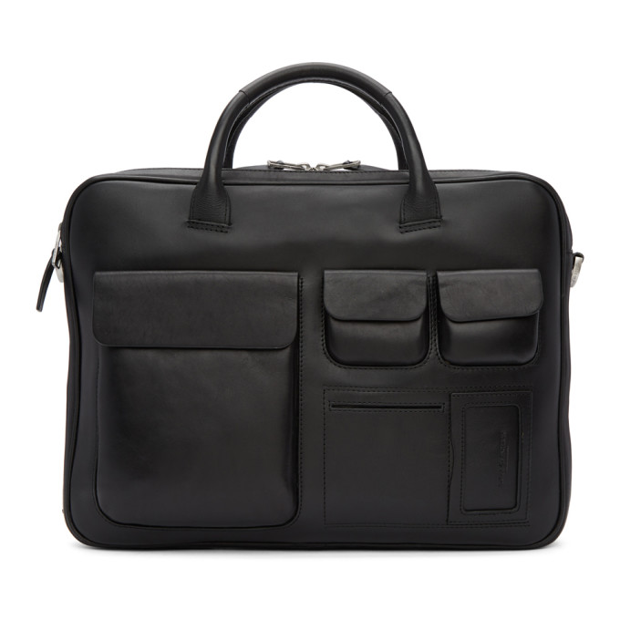 Image of Tiger of Sweden Black Accordant Briefcase