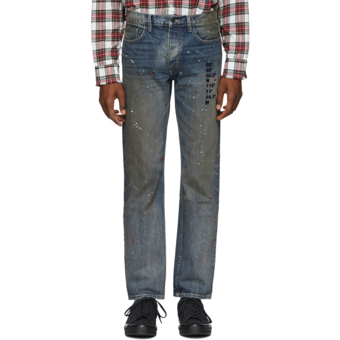 REESE COOPER Reese Cooper Blue Coordinate Jeans in Denim