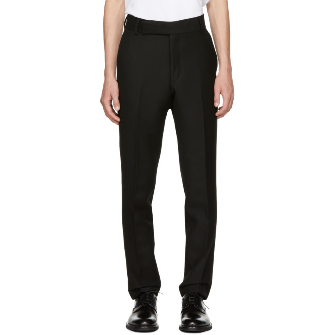 Image of Tiger of Sweden Black Vaughn Trousers