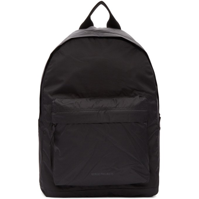 Norse Projects Black Ripstop Day Pack Backpack