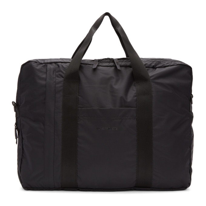 Norse Projects Black Ripstop Two-Way Shoulder Bag