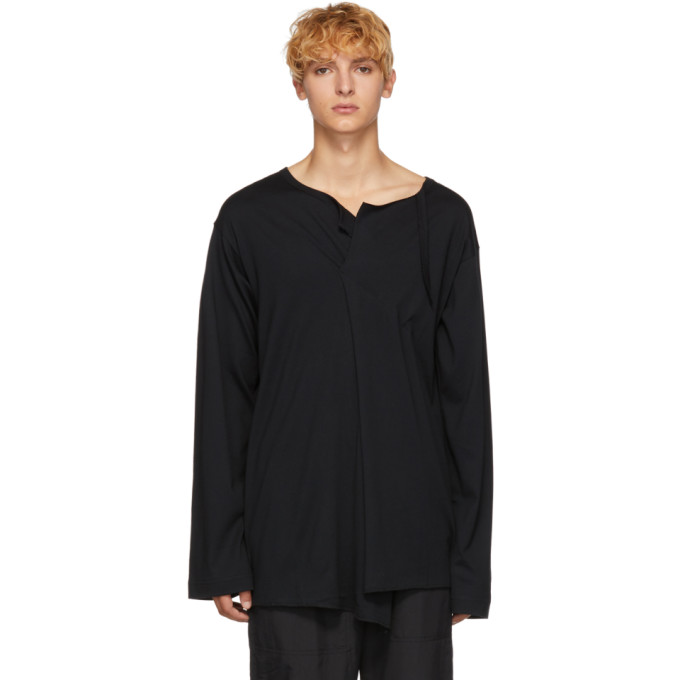 BED J.W. FORD Chemise noire Dart