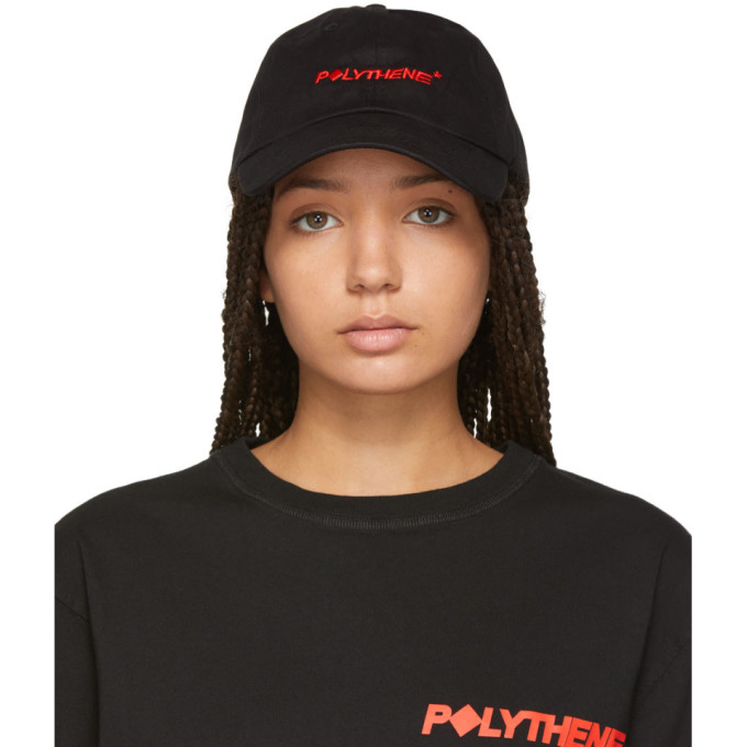 Polythene* Optics Casquette a logo brode noire