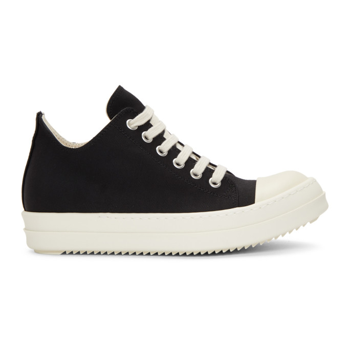 Rick Owens Drkshdw Black & White Low Sneakers