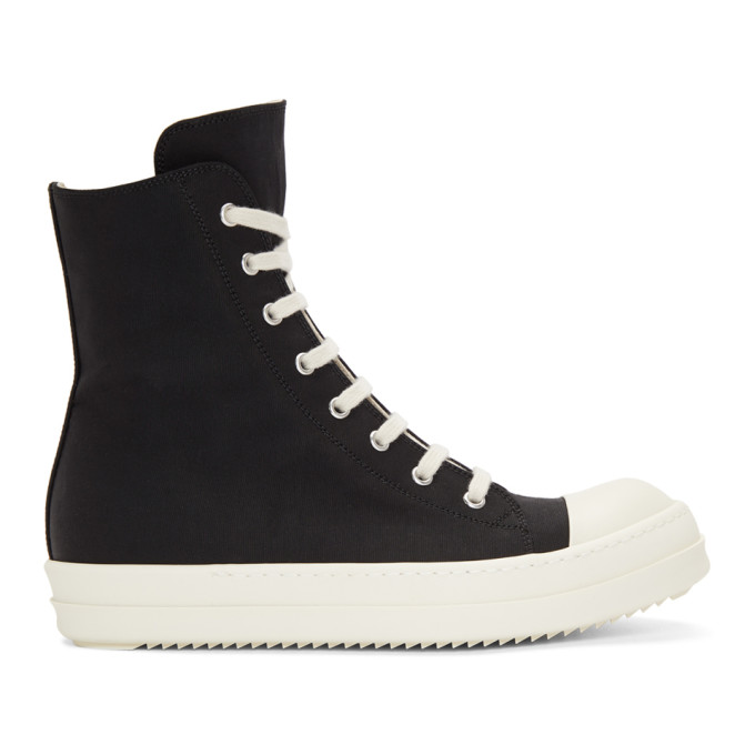 Rick Owens Drkshdw Black Murray High-Top Sneakers