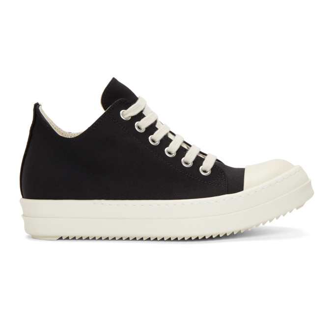Rick Owens Drkshdw Black Low Sneakers