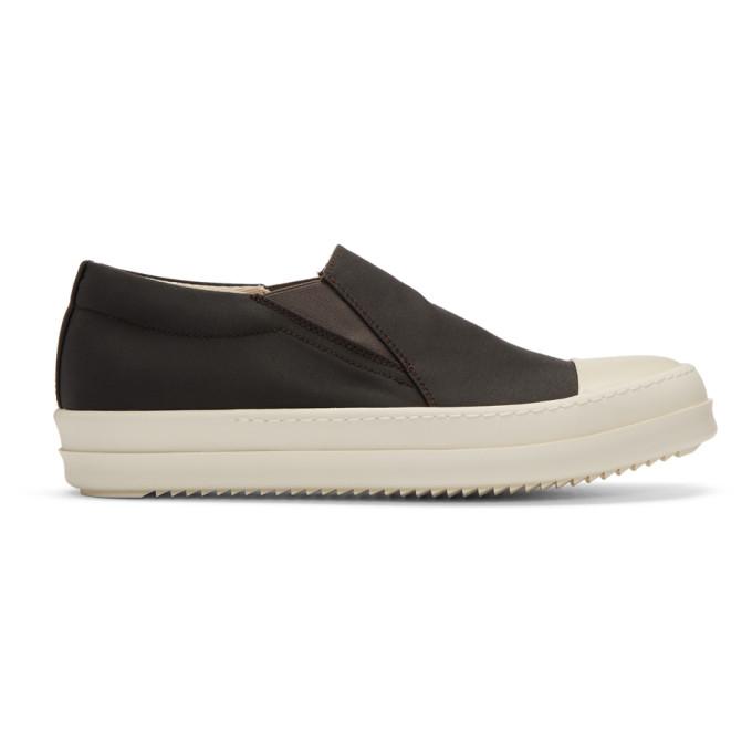 Rick Owens Drkshdw Grey Boat Sneakers