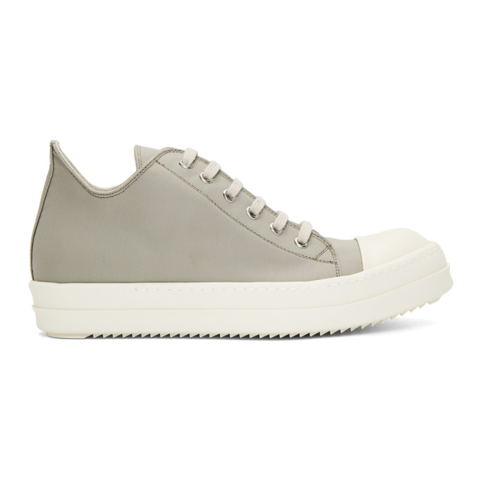 Rick Owens Drkshdw Grey Low Sneakers