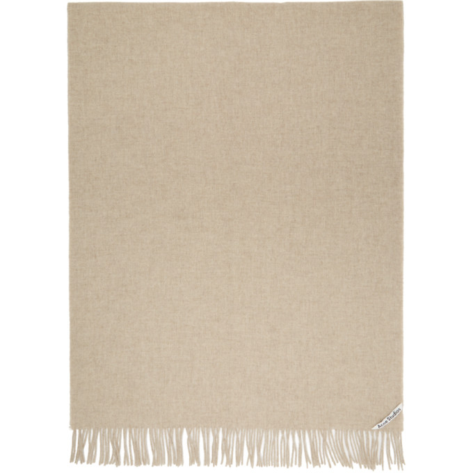 Image of Acne Studios Beige Canada New Scarf