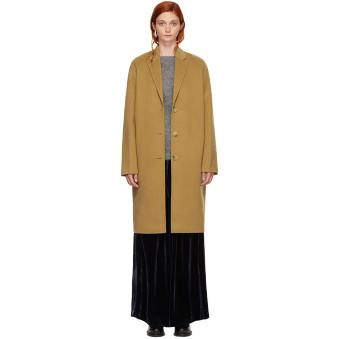 Image of Acne Studios Beige Avalon Coat