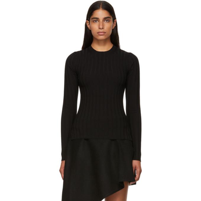 Acne Studios Black Merino Carina Sweater
