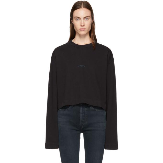 Acne Studios Black Odice Sweatshirt