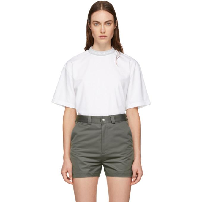 Acne Studios White Gojina T-Shirt in Optic White