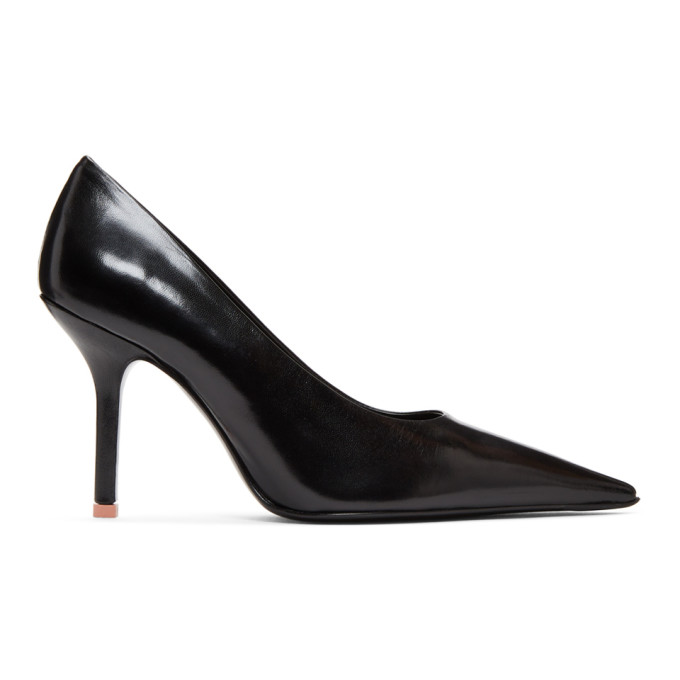 Acne Studios Black Leather Heels