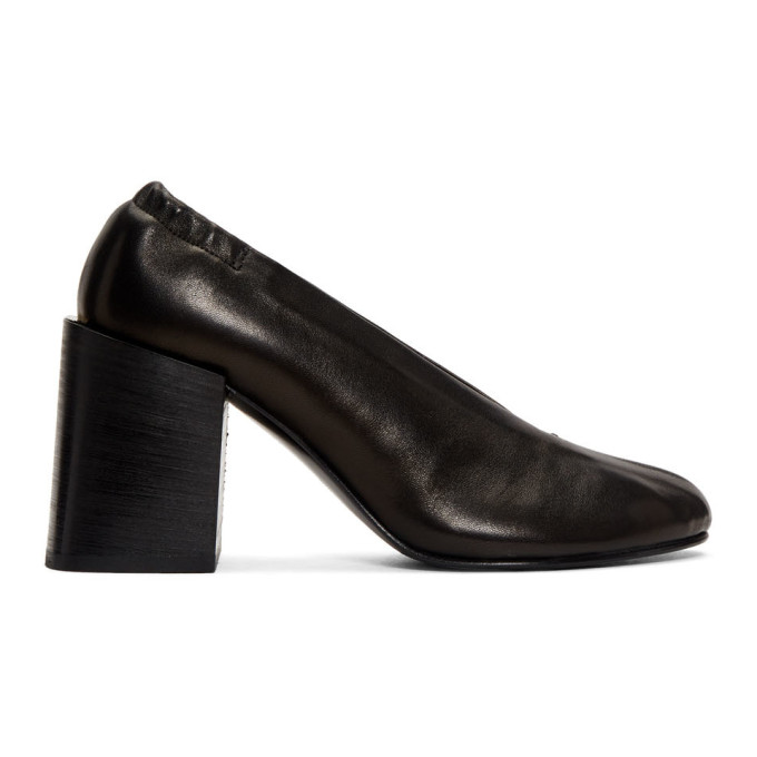 Acne Studios Black Sully Block Heels