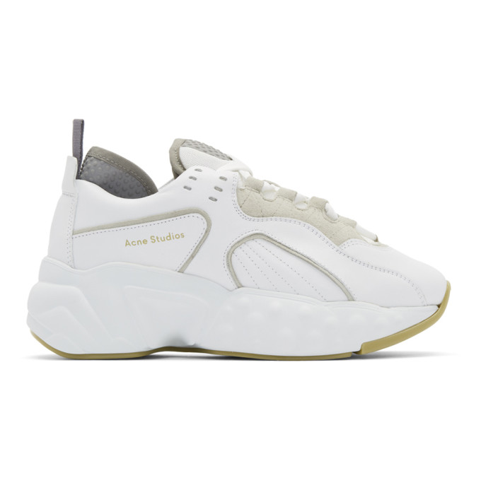 Acne Studios White Manhattan Sneakers