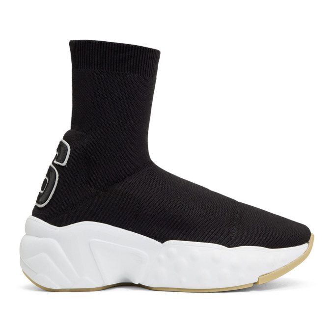 Acne Studios Black Knitted Sock Sneakers