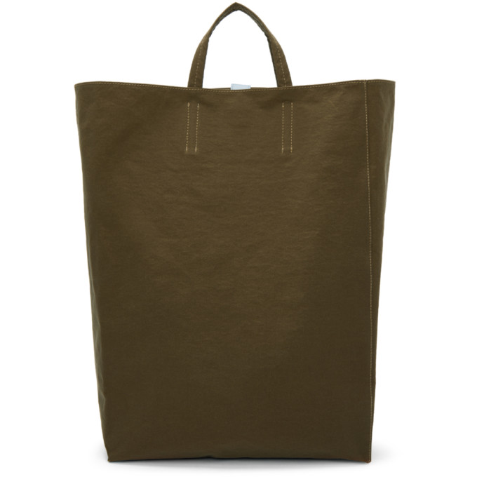 Acne Studios Brown Baker Tote