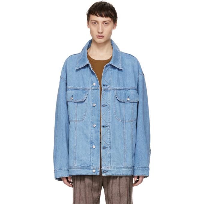 Acne Studios Blå Konst ブルー デニム オーバーサイズ ジャケット