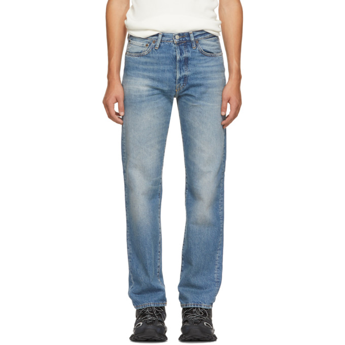 Acne Studios Blue Blå Konst 1996 Jeans