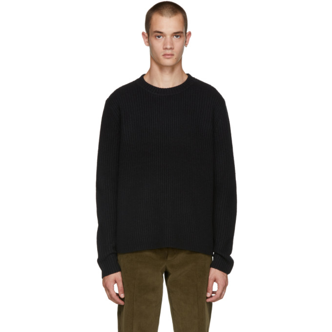 Acne Studios Black Nicholas Sweater