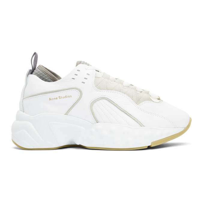 Acne Studios White Rockaway Sneakers