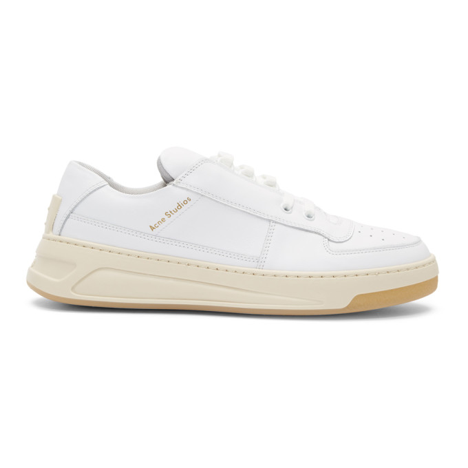 Acne Studios White Perey Sneakers