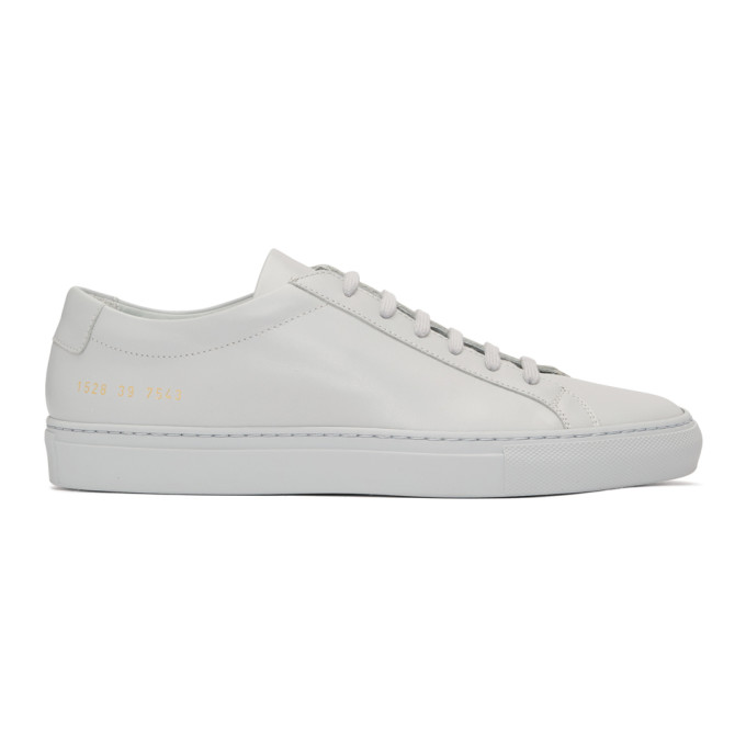 Common Projects Grey Original Achilles Low Sneakers