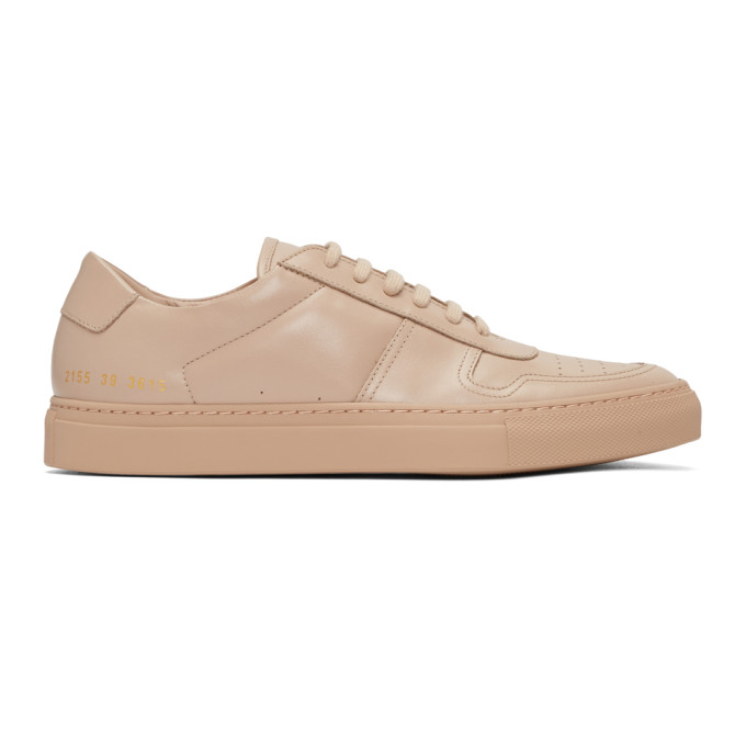 Common Projects Pink BBall Low Sneakers