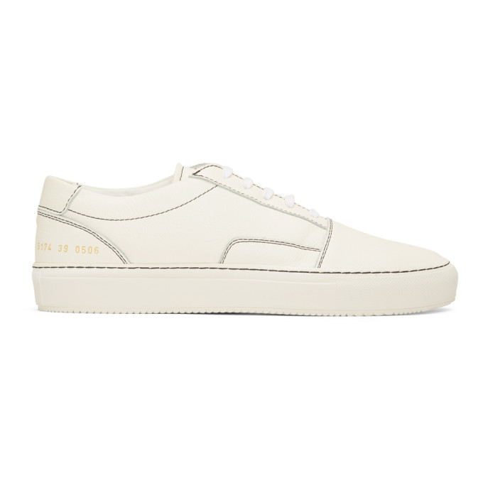 Common Projects White Skate Low Sneakers