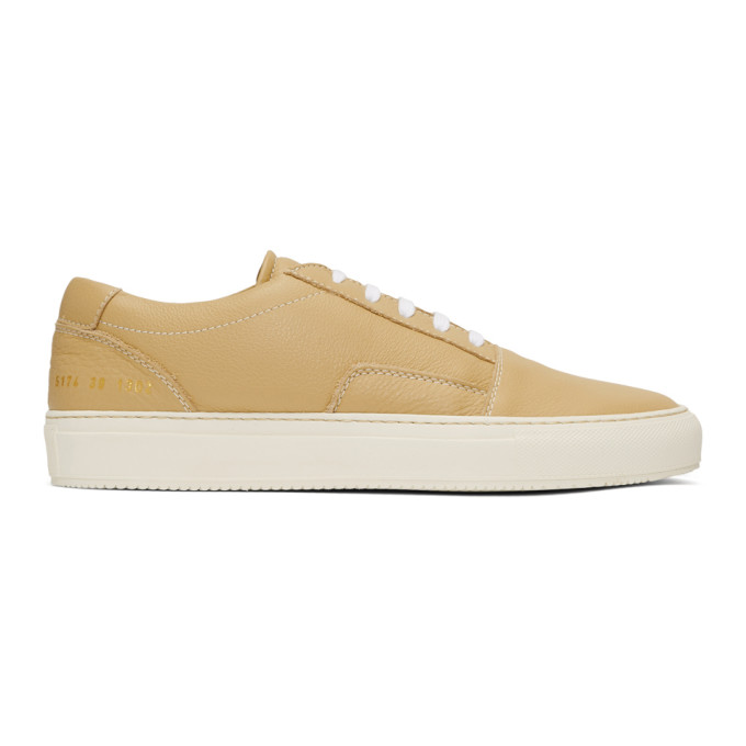 Common Projects Tan Skate Low Sneakers