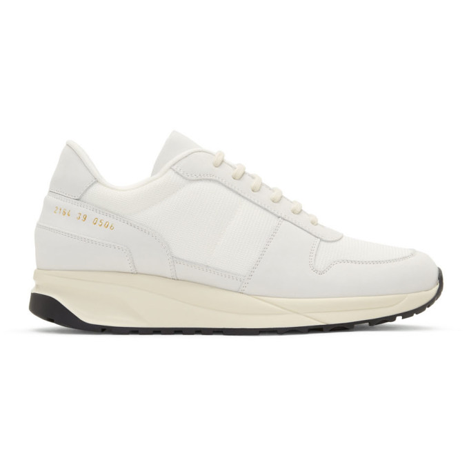 Common Projects White Track Vintage Sneakers
