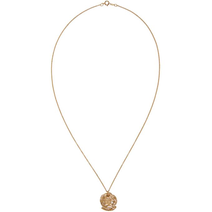 Alighieri Gold 'The Forgotten Memory' Necklace