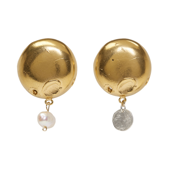 Image of Alighieri Gold The Enigmatic Extrovert Earrings
