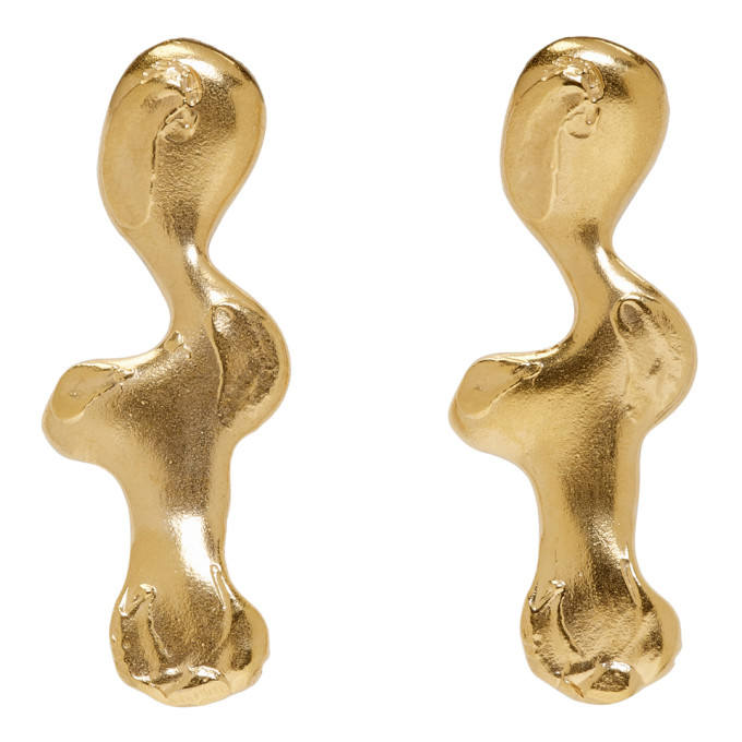 Image of Alighieri Gold The Persisting Nightmare Earrings