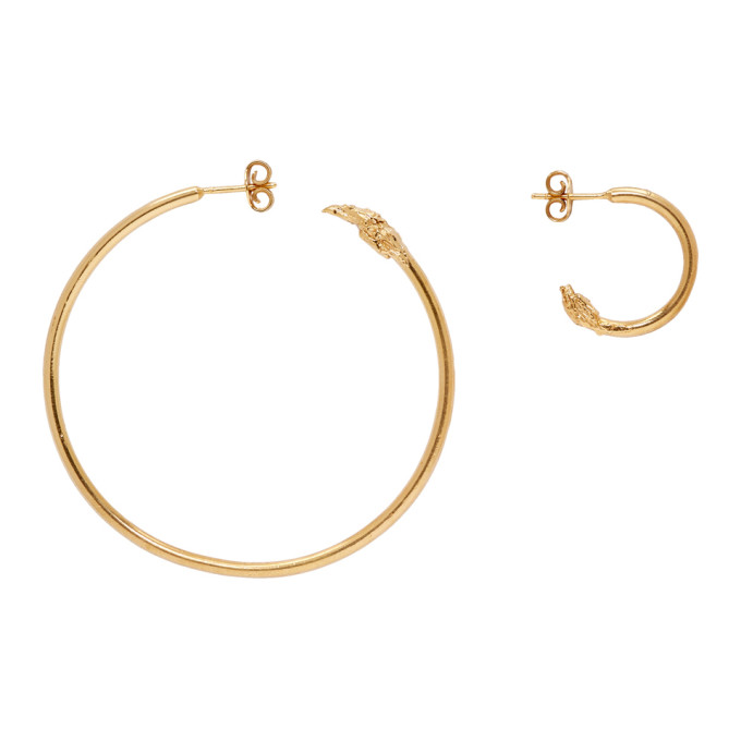 Image of Alighieri Gold Il Leone Earrings