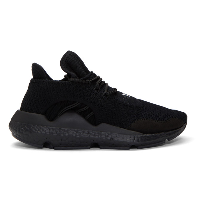 0867c7548bcfd Y 3 Black Saikou Boost Sneakers
