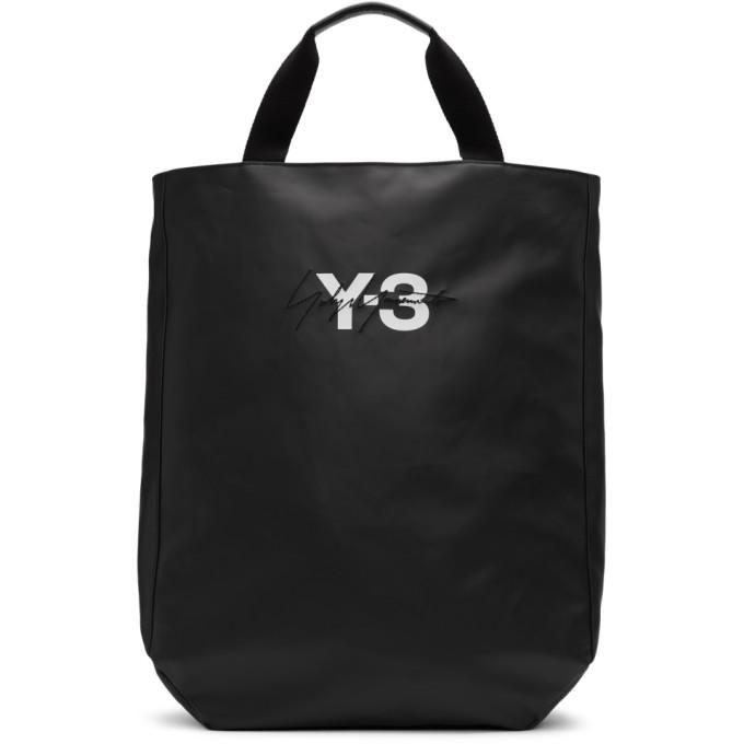 Y-3 ブラック ロゴ トート