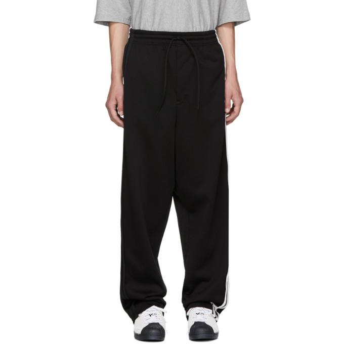 Image of Y-3 Black 3-Stripe Sweatpants