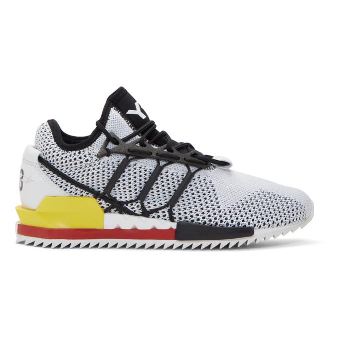 Y-3 Black & White Harigane Sneakers