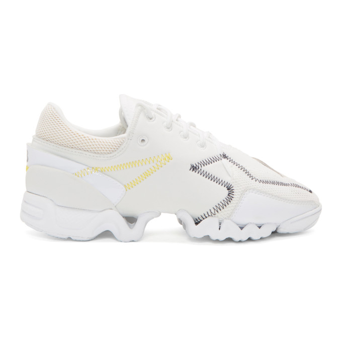 Y-3 White Ekika Sneakers