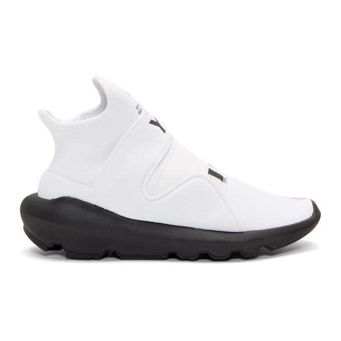 Y-3 White Suberou Sneakers