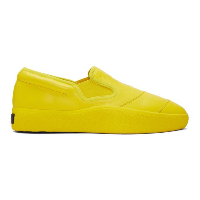 Y-3 Yellow Tangutsu Sneakers