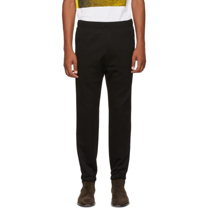 Dsquared2 Pantalon de survetement en jersey noir Jogger