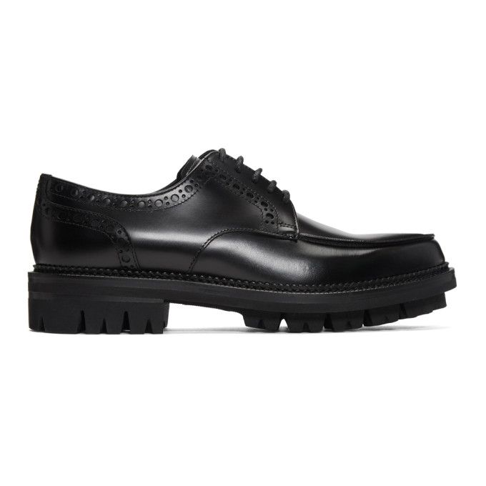 Dsquared2 Leathers DSQUARED2 BLACK RODEO BROGUES