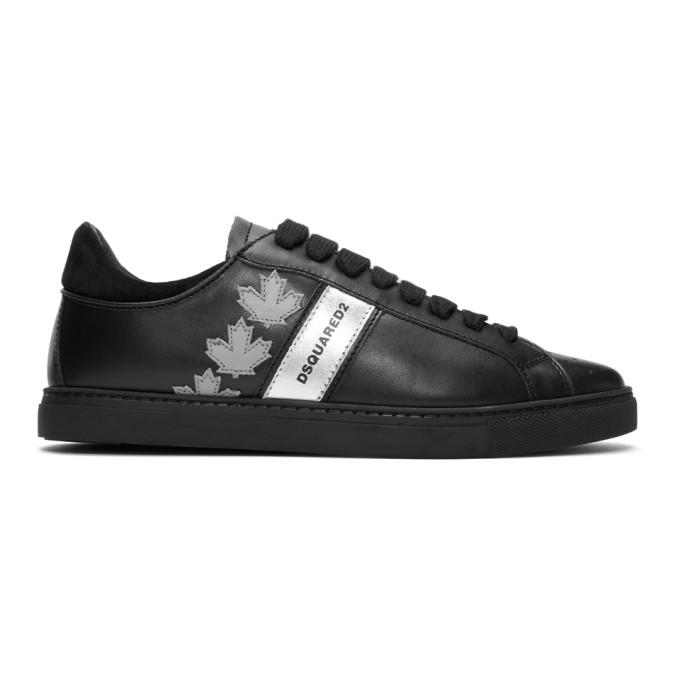 Dsquared2 Black Sport Sneakers