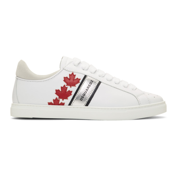 Dsquared2 White Sport Sneakers