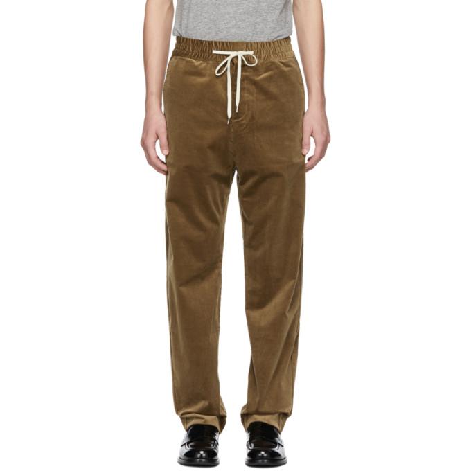 BAND OF OUTSIDERS Band Of Outsiders Beige Vintage Corduroy Trousers in 7004.Beige