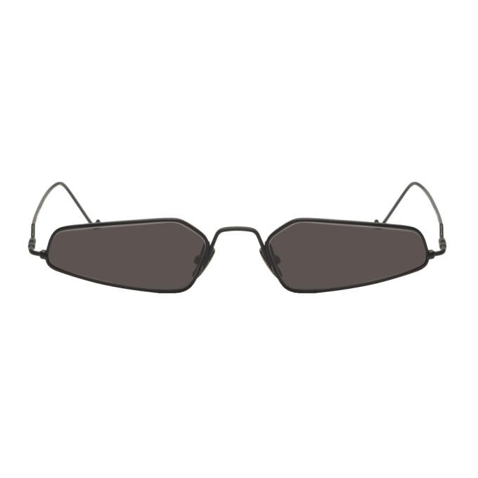 NOR Black Dimensions Micro Sunglasses in Black/Blk